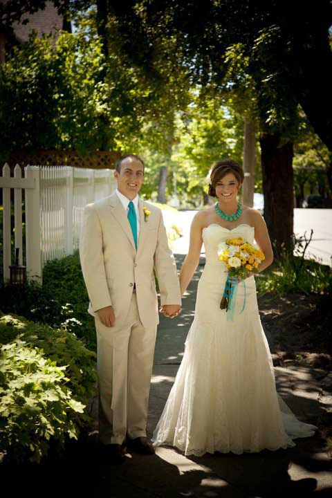 Adam & Hannah's July 23 Wedding