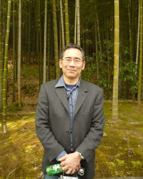 Akira in Japanese Bamboo Forest, 2008