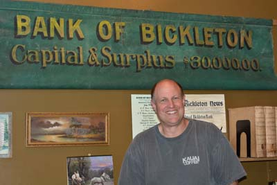 Bickleton Bank Display at Carousel Museum, 2013