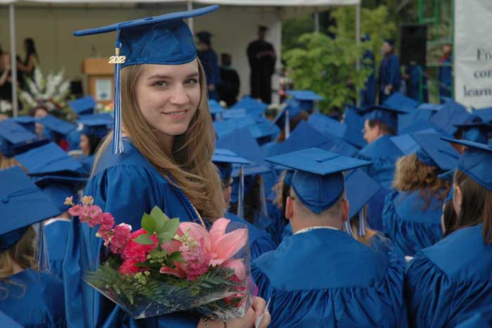 Tiffany at Graduation, June 2012